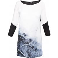 Monnari Dłuższy t-shirt z nadrukiem TSH2200