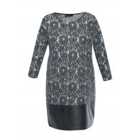 Monnari Koronkowa sukienka z panelem DRE3600