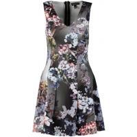 Topshop Sukienka letnia black TP721C01P-Q11