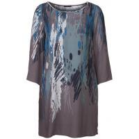Sisley Sukienka koszulowa szary 7SI21C02O-M00