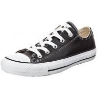 Converse CHUCK TAYLOR ALL STAR OX CORE LEATHER Tenisówki i Trampki black CO415A03G-802