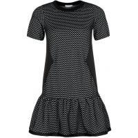 River Island Sukienka z dżerseju czarny RI921C00X-Q11