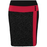 Anna Field Spódnica ołówkowa red/black AN621C0L7-G11