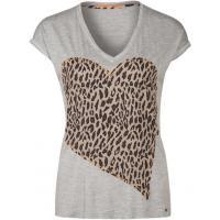 BOSS Orange VANDIA T-shirt z nadrukiem medium grey BO121D045-C11