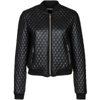 Versace Jeans Kurtka ze skóry ekologicznej nero 1VJ21G008-Q11