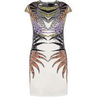 Just Cavalli Sukienka letnia white/lilac/orange JU621C041-A11