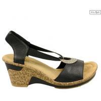 Sandały RIEKER 60662-00 black 8010851