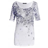 Monnari T-shirt z kwiatowym nadrukiem II TSH2920