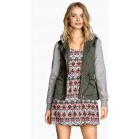 H&M Hooded jacket 0250631001 Green