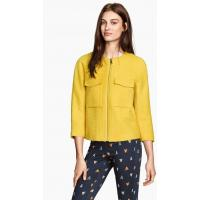 H&M Textured jacket 0261476002 Yellow