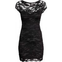 H&M Koronkowa sukienka 0289596002 Czarny