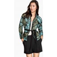 H&M Quilted jacket 0289802001 Black/Khaki green