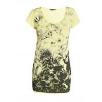 Monnari T-shirt z monochromatycznymi kwiatami TSH4950