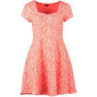 River Island Sukienka z dżerseju coral RI921C01L-G11