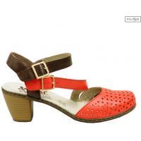 Sandały RIEKER 40984-33 red 8019987