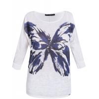 Monnari T-shirt z nadrukiem z motylem TSH5920