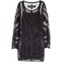 H&M Koronkowa sukienka 0311089002 Czarny