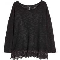 H&M Cienki sweter 0323899005 Czarny