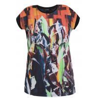 Monnari T-shirt z egzotycznym nadrukiem TSH6210