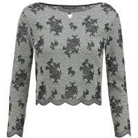 Guess TAINE Bluzka z długim rękawem scuffy lace GU121D08M-C11