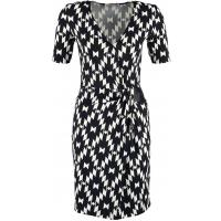 Anna Field Sukienka z dżerseju black/white AN621C0OK-Q11