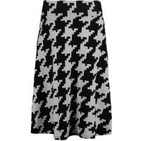 Anna Field Spódnica trapezowa black/white AN621BA0G-A11
