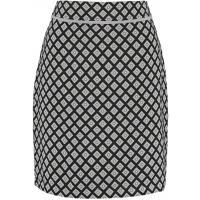 Anna Field Spódnica trapezowa black/grey/white AN621BA08-A11