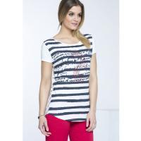 Monnari T-shirt z marynarskim stylu TSH2110