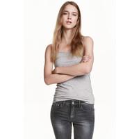 H&M Dżersejowa koszulka 0355072017 Szary
