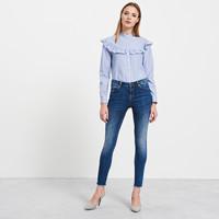 Reserved Jeansy z postrzępionymi nogawkami QE863-59J