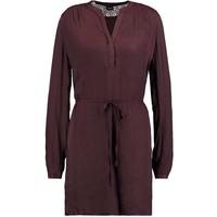 Vila VIELIA DRESS Sukienka koszulowa chocolate plum V1021C0OB-O11