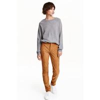 H&M Spodnie Slim fit 0420068003 Camel
