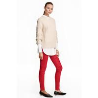 H&M Tregginsy superstretch 0356174014 Czerwony/Powłoka