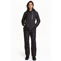 H&M Spodnie narciarskie 0409653003 Czarny
