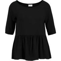 Vila VIKITTA T-shirt z nadrukiem black V1021D0DN-Q11