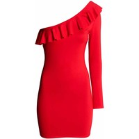 H&M Sukienka 0464528001 Czerwony