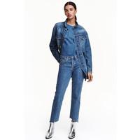 H&M Kurtka dżinsowa 0432552001 Niebieski denim