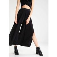 Topshop Spodnie materiałowe black TP721A09K