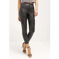 Topshop Spodnie materiałowe black TP721A07B
