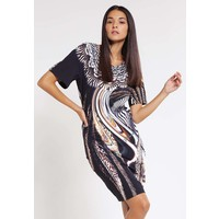 Just Cavalli Sukienka z dżerseju black JU621C05L