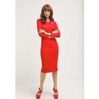 Just Cavalli Sukienka z dżerseju red JU621C053