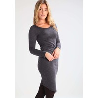 Vila VIGENERAL Sukienka z dżerseju dark grey melange V1021C0PQ