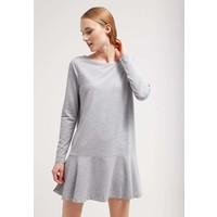 Vila VIHAREM Sukienka z dżerseju light grey melange V1021C0JK