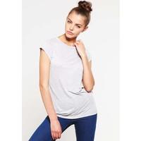 Selected Femme SFMINNA T-shirt basic light grey melange SE521D083