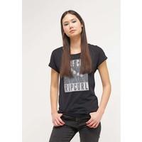 Rip Curl T-shirt z nadrukiem black RI721D02V