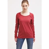 Ragwear MIKE ORGANIC Bluzka z długim rękawem rosewood red R5921D026