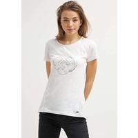 Ragwear SUGAR A ORGANIC T-shirt z nadrukiem white R5921D01Z