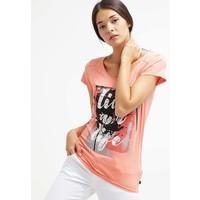Q/S designed by T-shirt z nadrukiem peach melba QS121D0DV