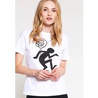 PS by Paul Smith T-shirt z nadrukiem white PP821D00G