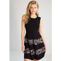 Anna Field Sukienka z dżerseju black/nude AN621CACX